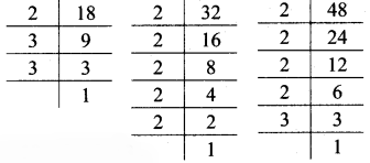 Maharashtra Board Class 7 Maths Solutions Chapter 3 HCF and LCM Practice Set 12 5