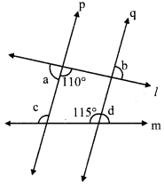 Maharashtra Board Class 9 Maths Solutions Chapter 2 Parallel Lines Practice Set 2.1 2