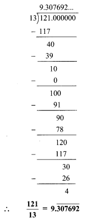 Maharashtra Board Class 9 Maths Solutions Chapter 2 Real Numbers Problem Set 2 14