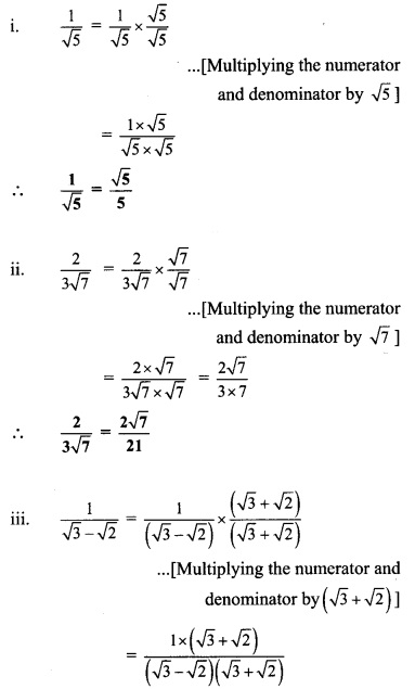 Maharashtra Board Class 9 Maths Solutions Chapter 2 Real Numbers Problem Set 2 31