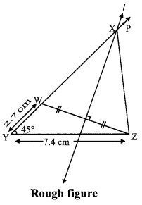 Maharashtra Board Class 9 Maths Solutions Chapter 4 Constructions of Triangles Practice Set 4.2 1