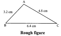 Maharashtra Board Class 9 Maths Solutions Chapter 4 Constructions of Triangles Problem Set 4 5