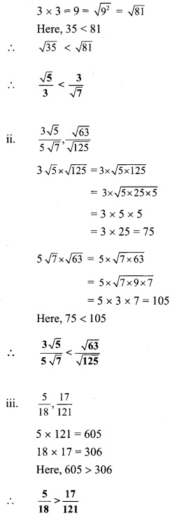 Maharashtra Board Class 9 Maths Solutions Chapter 4 Ratio and Proportion Practice Set 4.2 10