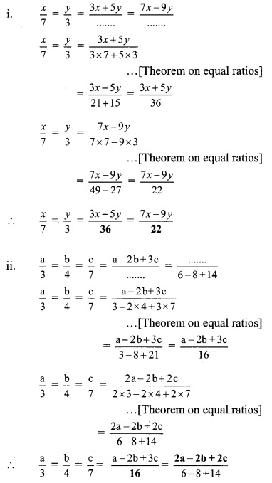 Maharashtra Board Class 9 Maths Solutions Chapter 4 Ratio and Proportion Practice Set 4.4 2