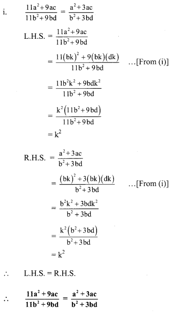 Maharashtra Board Class 9 Maths Solutions Chapter 4 Ratio and Proportion Problem Set 4 18