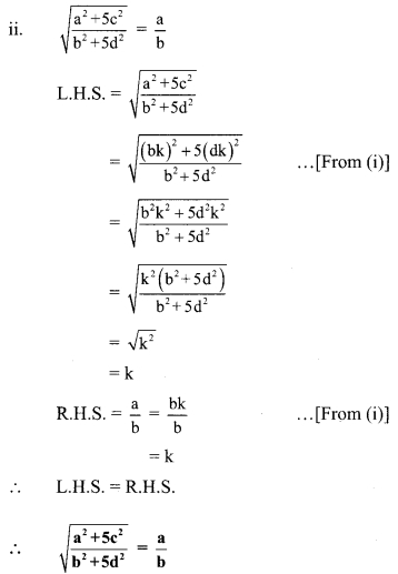 Maharashtra Board Class 9 Maths Solutions Chapter 4 Ratio and Proportion Problem Set 4 19
