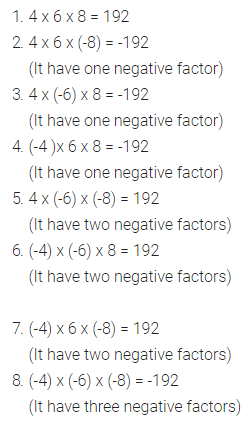 Selina Concise Mathematics Class 7 ICSE Solutions Chapter 1 Integers Ex 1A 7