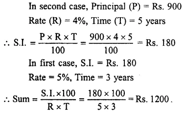 Selina Concise Mathematics Class 7 ICSE Solutions Chapter 10 Simple Interest 15