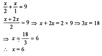 Selina Concise Mathematics Class 7 ICSE Solutions Chapter 12 Simple Linear Equations Ex 12C 54