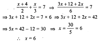 Selina Concise Mathematics Class 7 ICSE Solutions Chapter 12 Simple Linear Equations Ex 12C 70