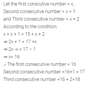 Selina Concise Mathematics Class 7 ICSE Solutions Chapter 12 Simple Linear Equations Ex 12D 98