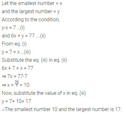 Selina Concise Mathematics Class 7 ICSE Solutions Chapter 12 Simple Linear Equations Ex 12D 99
