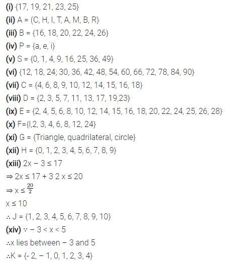 Selina Concise Mathematics Class 7 ICSE Solutions Chapter 13 Set Concepts Ex 13A 4