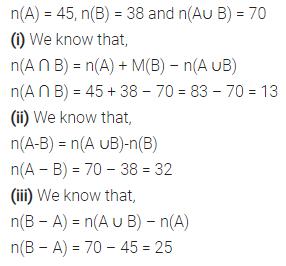 Selina Concise Mathematics Class 7 ICSE Solutions Chapter 13 Set Concepts Ex 13D 30