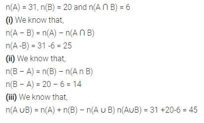 Selina Concise Mathematics Class 7 ICSE Solutions Chapter 13 Set Concepts Ex 13D 32