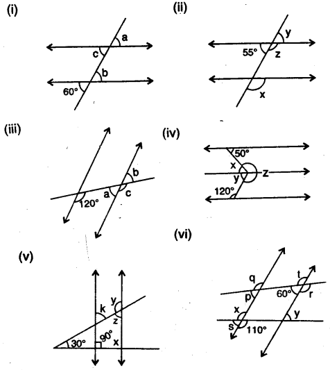Selina Concise Mathematics Class 7 ICSE Solutions Chapter 14 Lines and Angles Ex 14B Q6