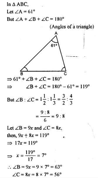 Selina Concise Mathematics Class 7 ICSE Solutions Chapter 15 Triangles Ex 15A 12