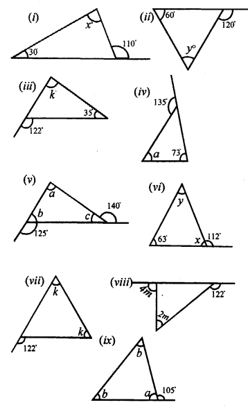 Selina Concise Mathematics Class 7 ICSE Solutions Chapter 15 Triangles Ex 15A Q12