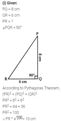 Selina Concise Mathematics Class 7 ICSE Solutions Chapter 16 Pythagoras Theorem 8