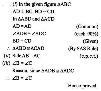 Selina Concise Mathematics Class 7 ICSE Solutions Chapter 19 Congruency Congruent Triangles 17