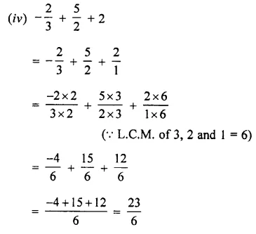 Selina Concise Mathematics Class 7 ICSE Solutions Chapter 2 Rational Numbers Ex 2C 57