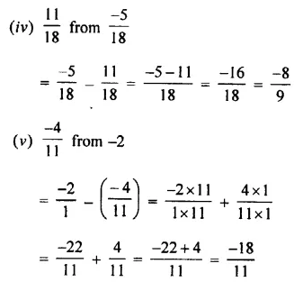 Selina Concise Mathematics Class 7 ICSE Solutions Chapter 2 Rational Numbers Ex 2C 60