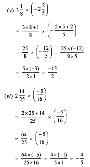 Selina Concise Mathematics Class 7 ICSE Solutions Chapter 2 Rational Numbers Ex 2D 75