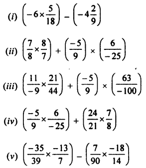 Selina Concise Mathematics Class 7 ICSE Solutions Chapter 2 Rational Numbers Ex 2D Q3