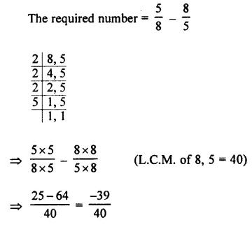 Selina Concise Mathematics Class 7 ICSE Solutions Chapter 2 Rational Numbers Ex 2E 112