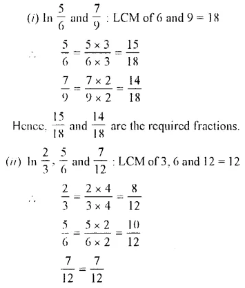 Selina Concise Mathematics Class 7 ICSE Solutions Chapter 3 Fractions (Including Problems) Ex 3B 10