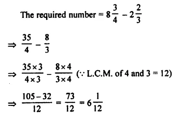 Selina Concise Mathematics Class 7 ICSE Solutions Chapter 3 Fractions (Including Problems) Ex 3C 47