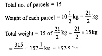 Selina Concise Mathematics Class 7 ICSE Solutions Chapter 3 Fractions (Including Problems) Ex 3E 78