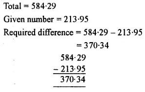 Selina Concise Mathematics Class 7 ICSE Solutions Chapter 4 Decimal Fractions (Decimals) Ex 4B 22