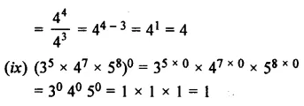 Selina Concise Mathematics Class 7 ICSE Solutions Chapter 5 Exponents (Including Laws of Exponents) Ex 5B 36