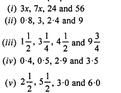 Selina Concise Mathematics Class 7 ICSE Solutions Chapter 6 Ratio and Proportion (Including Sharing in a Ratio) Ex 6B Q1