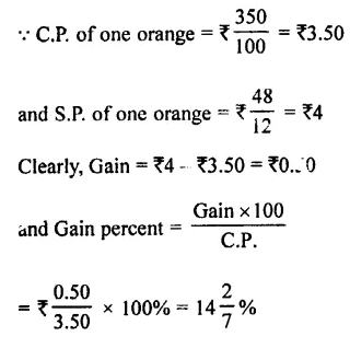 Selina Concise Mathematics Class 7 ICSE Solutions Chapter 9 Profit, Loss and Discount Ex 9B 27
