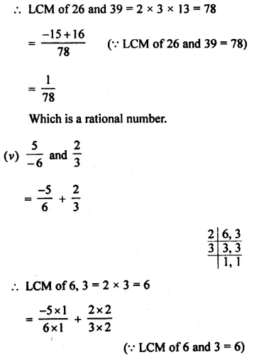 Selina Concise Mathematics Class 8 ICSE Solutions Chapter 1 Rational Numbers EX 1A 4