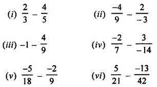 Selina Concise Mathematics Class 8 ICSE Solutions Chapter 1 Rational Numbers EX 1B 41