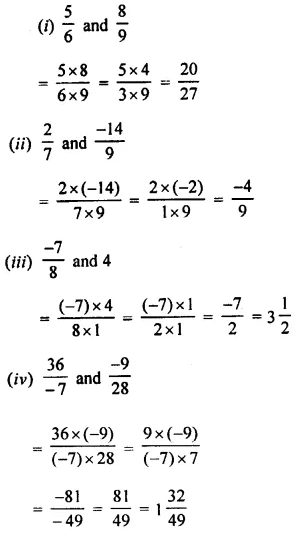 Selina Concise Mathematics Class 8 ICSE Solutions Chapter 1 Rational Numbers EX 1C 67
