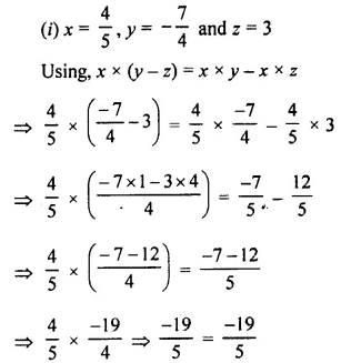 Selina Concise Mathematics Class 8 ICSE Solutions Chapter 1 Rational Numbers EX 1C 86