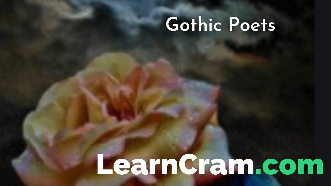 Gothic Poets