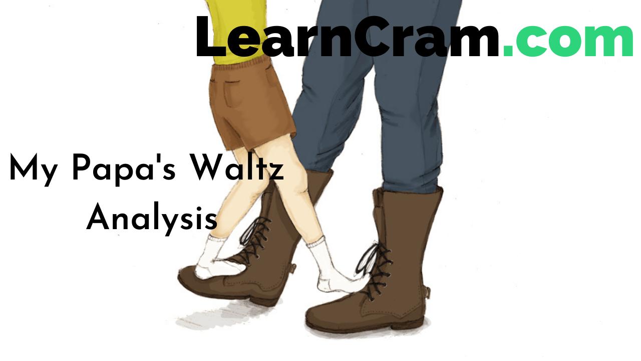 My Papa's Waltz Analysis