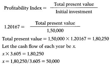 Capital Budgeting – Financial Management MCQ 38