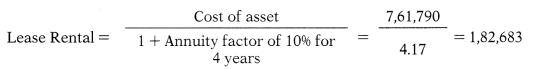 Capital Budgeting – Financial Management MCQ 74