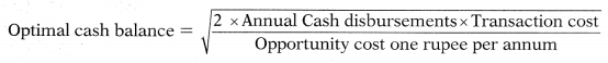 Management of Cash and Marketable Securities – Financial Management MCQ 14