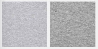 Heather gray color blocks