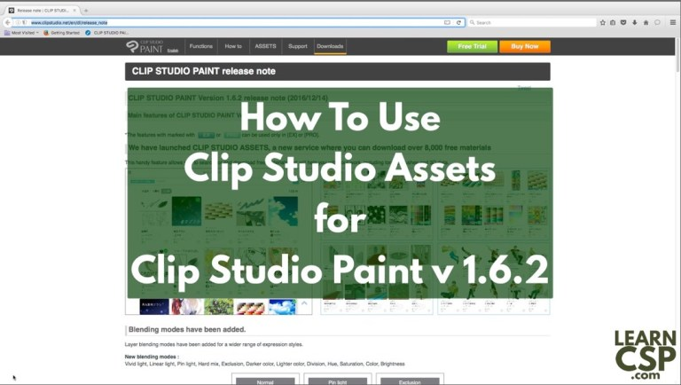 An Introduction to Clip Studio Assets
