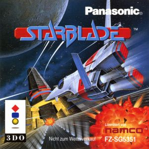 Starblade 3DO art