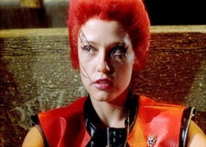 Linnea Quigley in 'RoTLD'