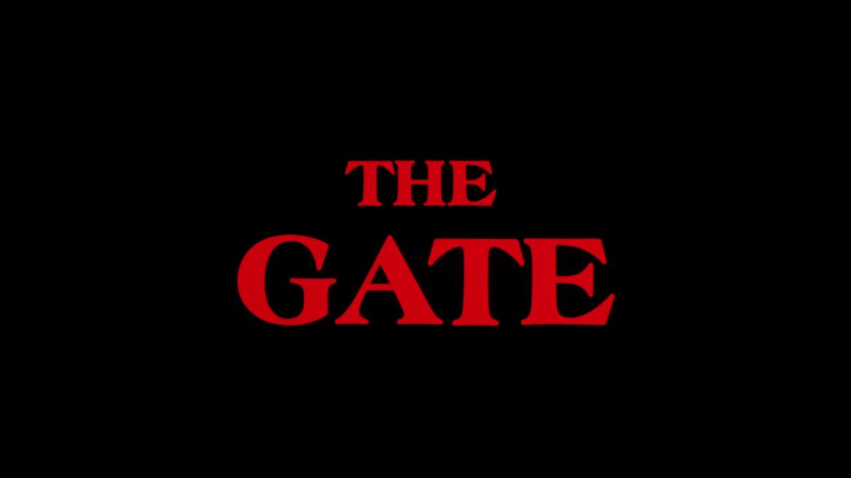 The Gate (Blu Ray, Reg B)